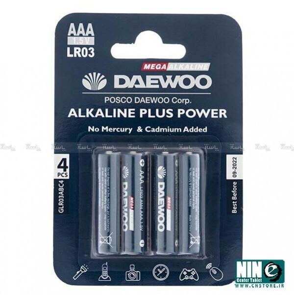 باتری نیم قلمی دوو مدل Alkaline plus Power-تصویر اصلی