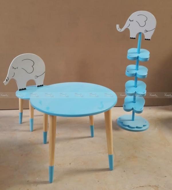 جا کفشی و میز و صندلی مدل فیل-تصویر اصلی