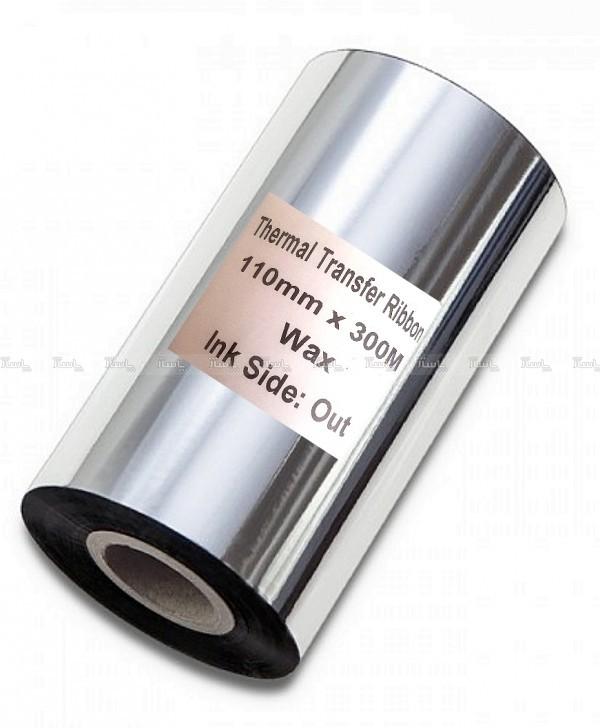 ریبون وکس لیبل پرینترThermal Transfer WAX Ribbon-تصویر اصلی