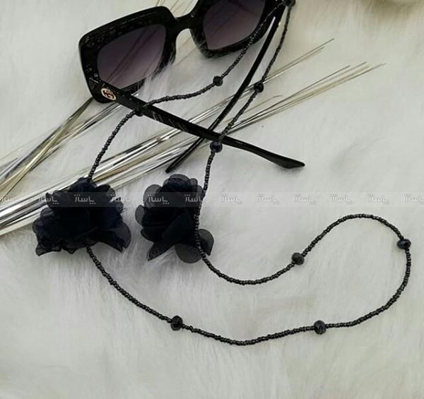 بند عینک مشکی گل-تصویر اصلی