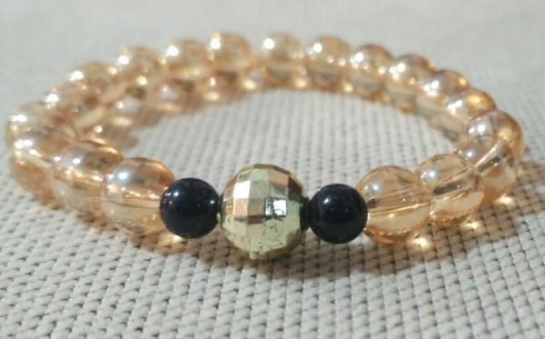 دستبند مروارید طلایی-تصویر اصلی