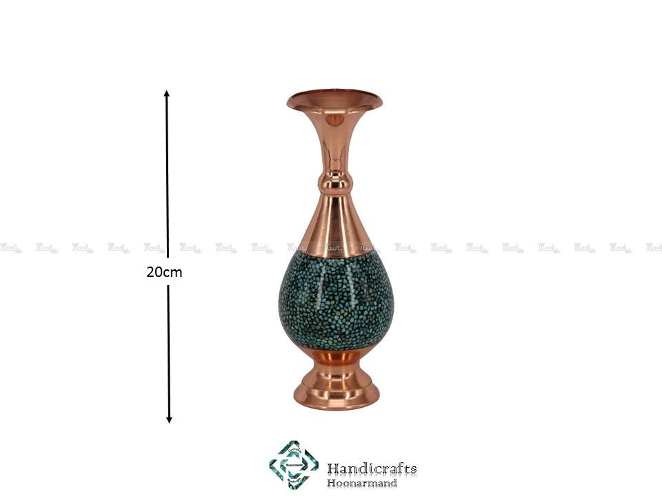 گلدان ۲۰ صراحی فیروزه کوب-تصویر اصلی