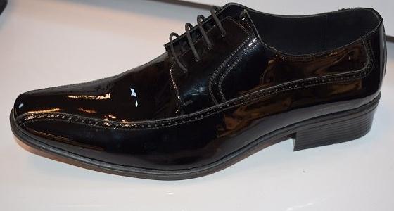 کفش چرم تبریز(ورنی)-تصویر اصلی