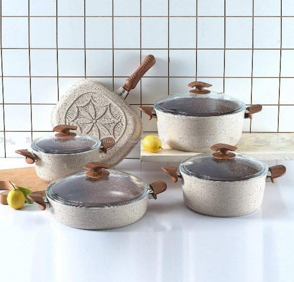 سرویس پخت و پز 10پارچه اویز مدل سوینگ-تصویر اصلی
