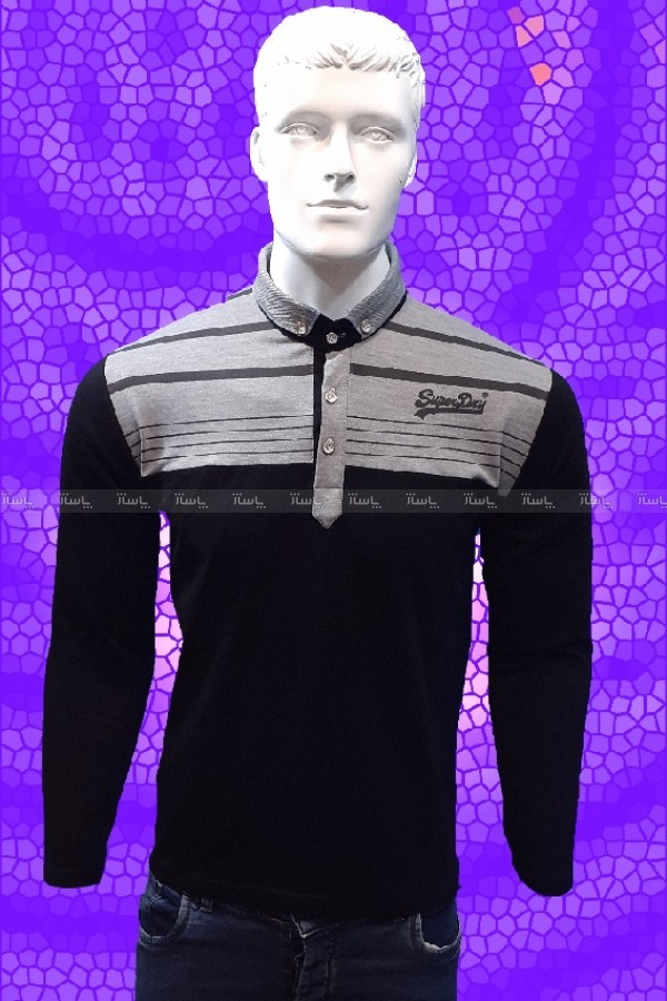 تی شرت یقه دار مردانه-تصویر اصلی