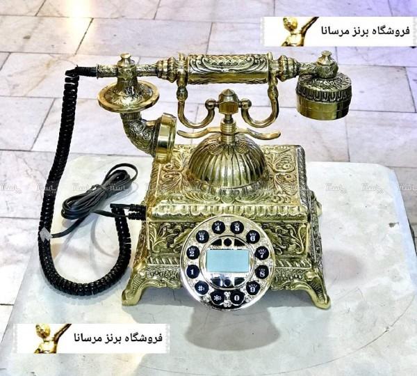 تلفن رومیزی برنز-تصویر اصلی