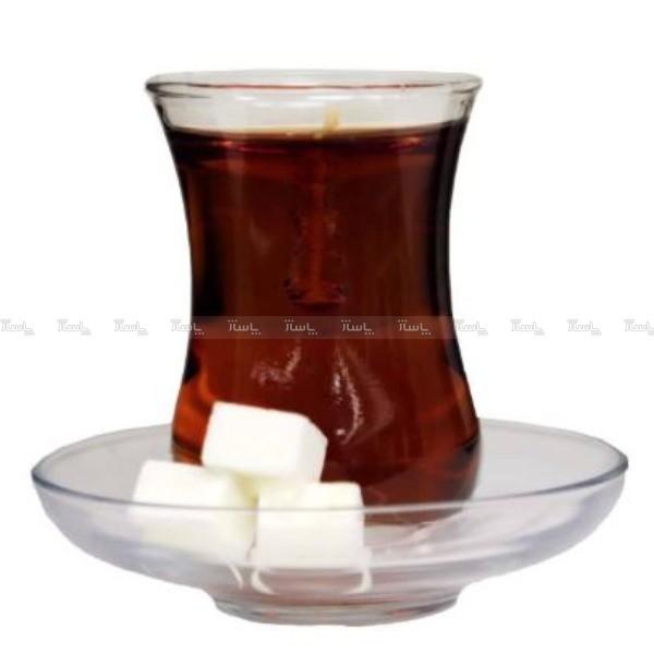 شمع طرح چای مدل کمر باریک-تصویر اصلی