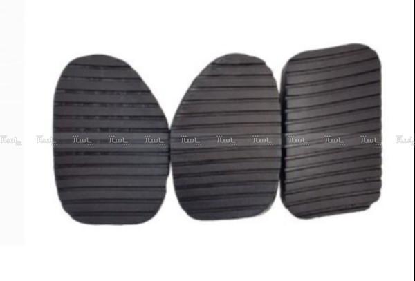 روکش پدال خودرو مناسب برای پژو 405 ، سمند و پرشیا  مجموعه 3 عددی-تصویر اصلی