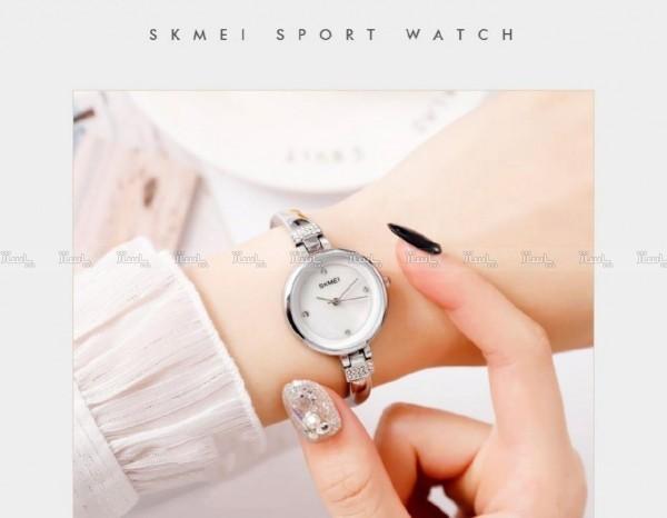 ساعت دستبندی زنانه SKMEI New collection  Model no:1409 for women 2020-تصویر اصلی