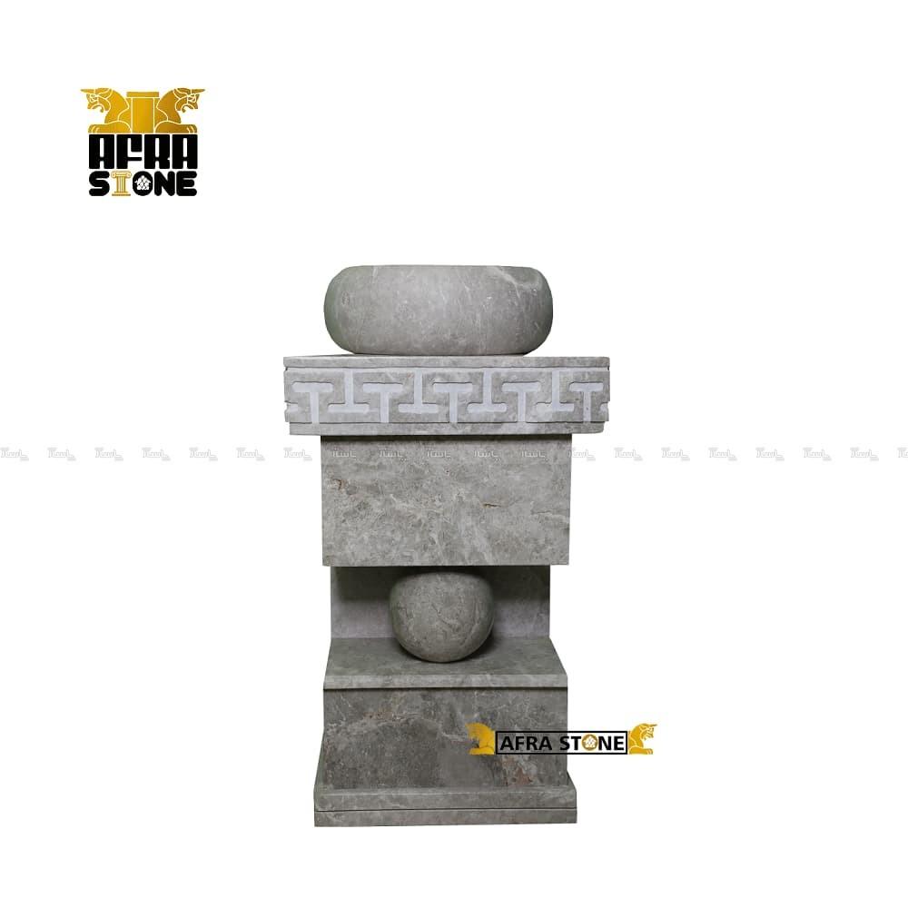 روشویی سنگی تک پایه کد 0019-تصویر اصلی