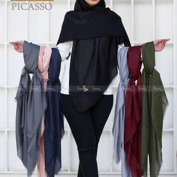 روسری ساده ابریشم-تصویر اصلی