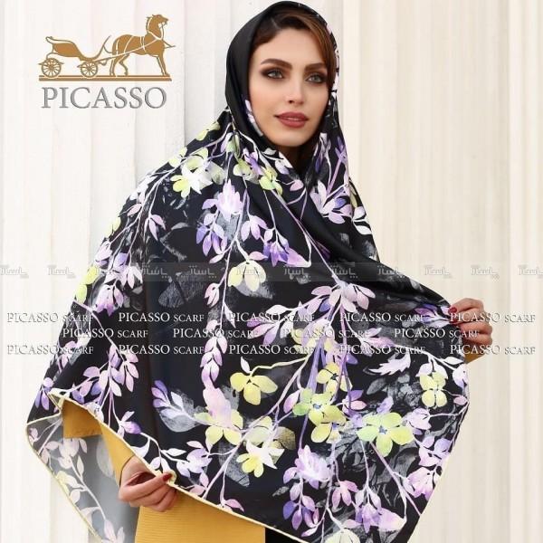روسری ساتن ابریشم-تصویر اصلی