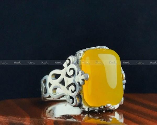 انگشتر عقیق زرد شرف شمس-تصویر اصلی