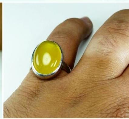انگشترعقیق زرد-تصویر اصلی