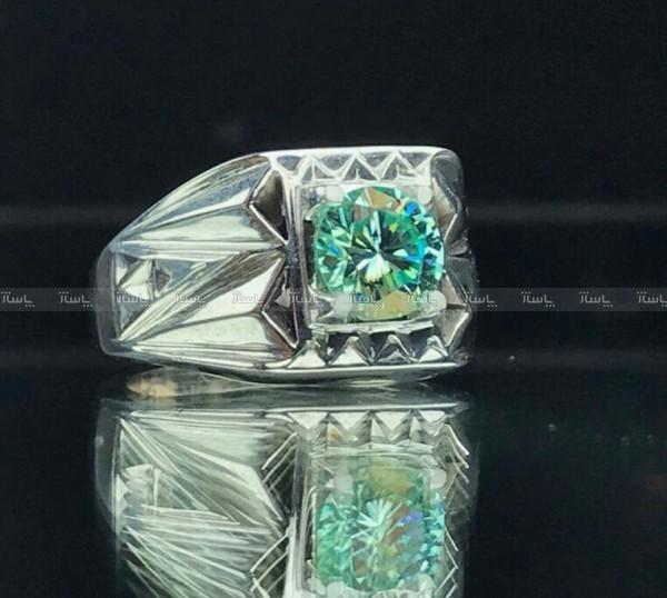 انگشتر موزانایت اصلی (الماس روسی)-تصویر اصلی