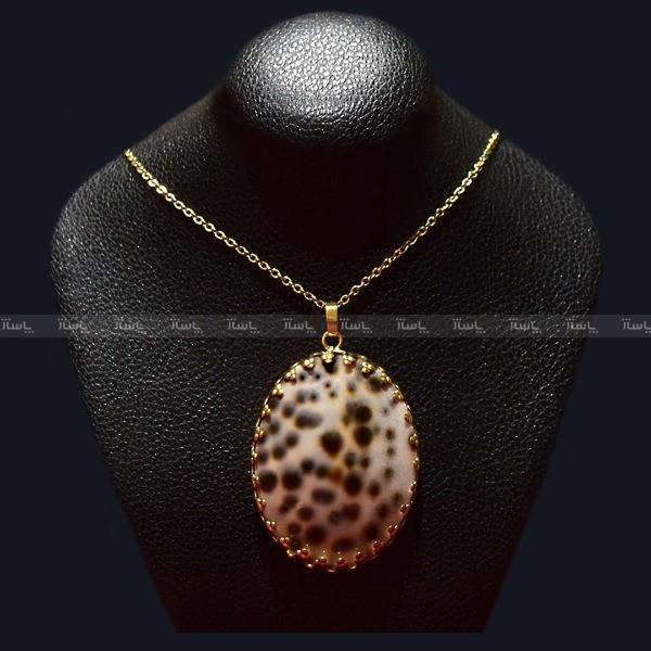 گردنبند صدف آبکاری طلا MASSIA-تصویر اصلی