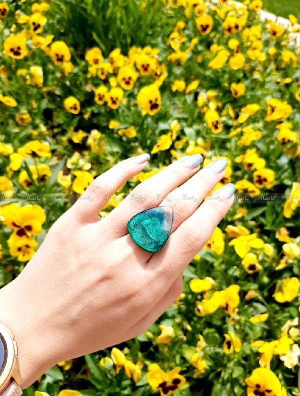 انگشتر موج سبز-تصویر اصلی