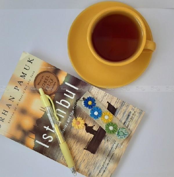 نشانگر کتاب گلی-تصویر اصلی
