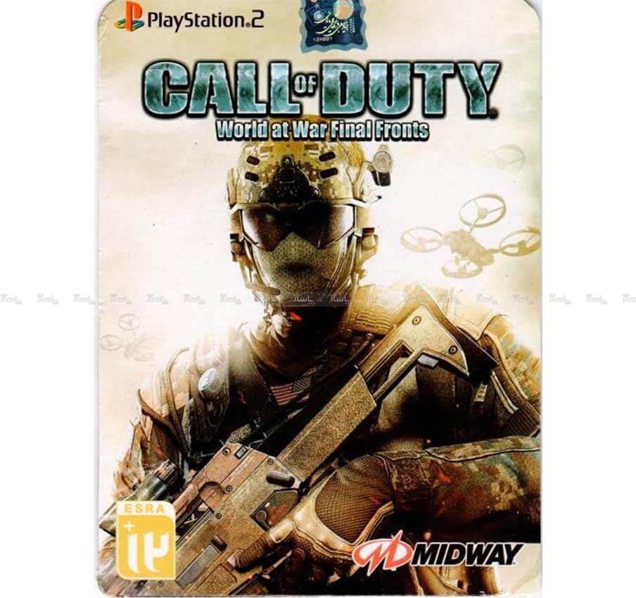 بازی Call Of Duty World At War Final Fronts مخصوص PS2-تصویر اصلی