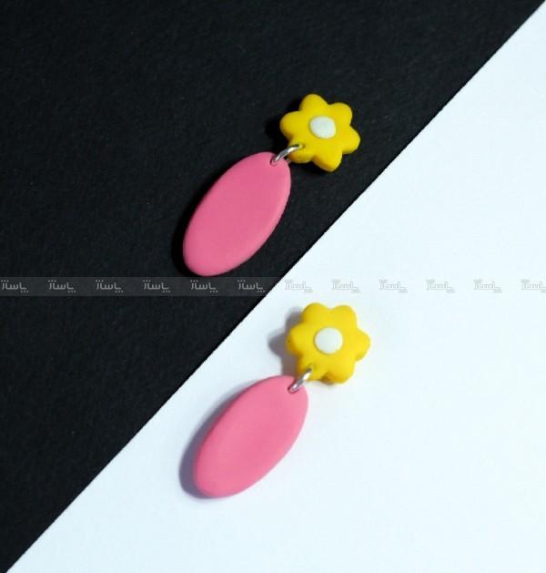 گوشواره گلدار میخی-تصویر اصلی