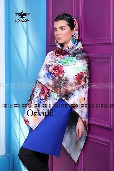 روسری ابریشم فاستونی دیجیتال 166-28-تصویر اصلی