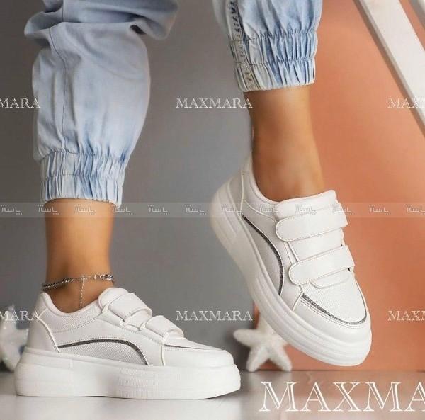 کفش کتانی اسپورت دو چسب سایه لمه-تصویر اصلی