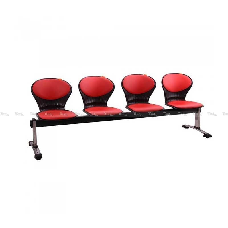 صندلی انتظار چهار نفره مدل صدفی-تصویر اصلی