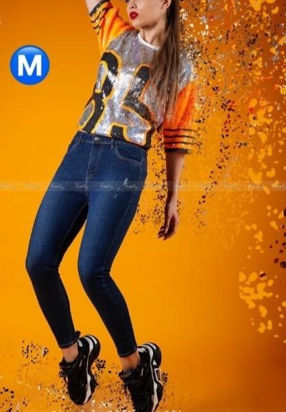 شلوار جین زنانه ترک MANGO-تصویر اصلی