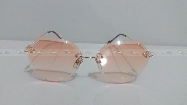 عینک دورنگ آفتابی زنانه شنل