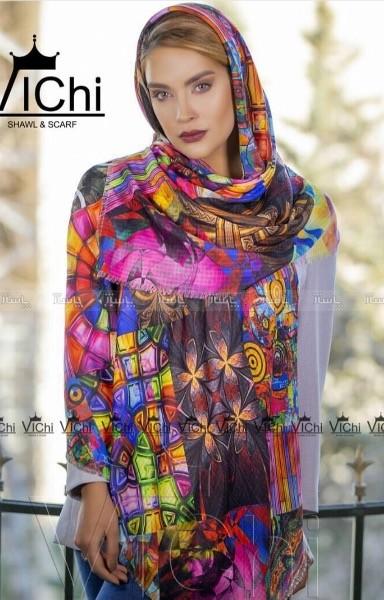 روسری نخی ریشه پرزی-تصویر اصلی