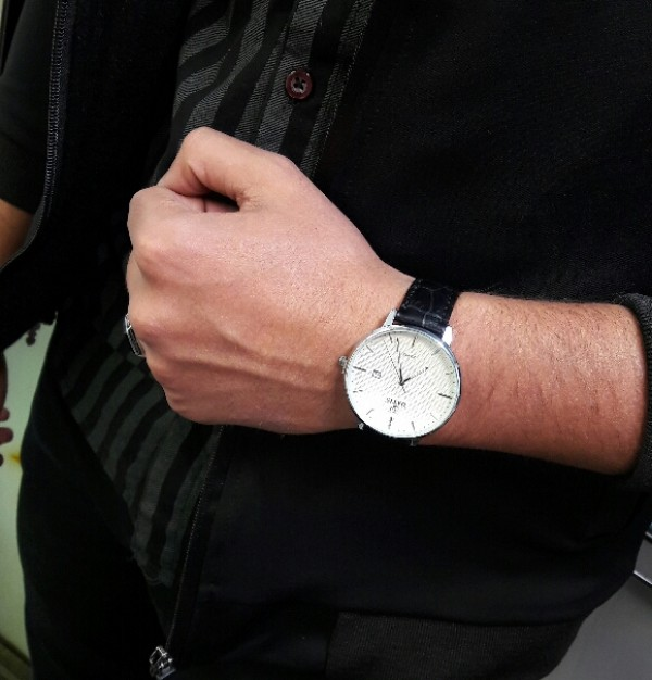 ساعت داتیس بند چرمی-تصویر اصلی
