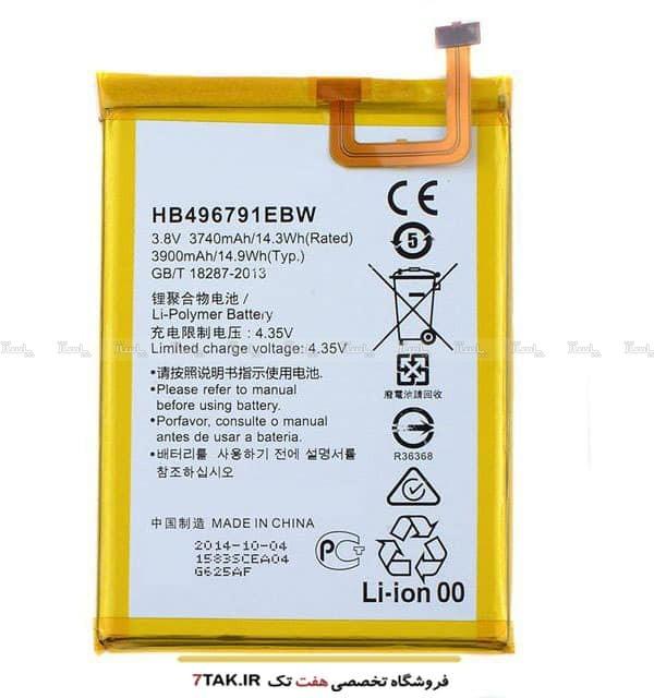 باطری اصلی هوآوی  Huawei Mate 2  HB496791EBW-تصویر اصلی