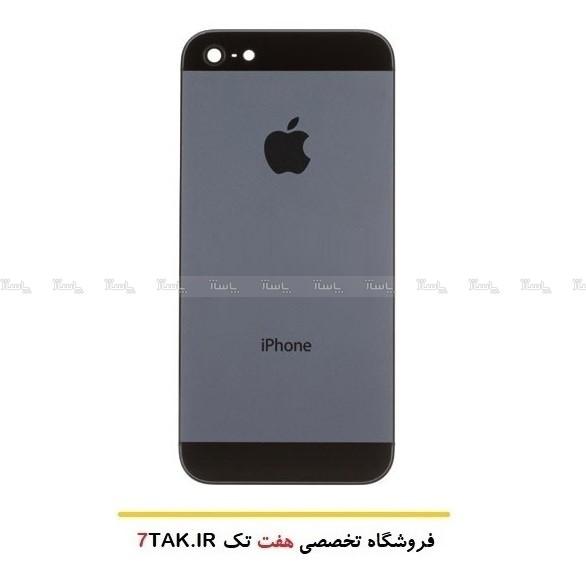 درب پشت وقاب وشاسی کامل اصلی گوشی آیفون Apple iPhone 5-تصویر اصلی