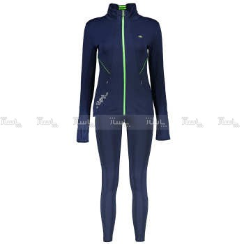 ست سویشرت و شلوار زنانه بیلسی مدل 15Y7053-MEI-NAVY-NAVY                             Bilcee 15Y7053-MEI-NAVY-NAVY Sweatshirt And Trousers Set For Women-تصویر اصلی