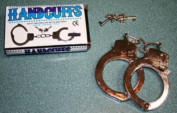 دستبند فلزی پلیسی-تصویر اصلی