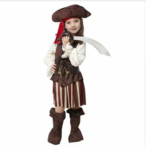 ست لباس دخترانه دزدان دریایی-تصویر اصلی