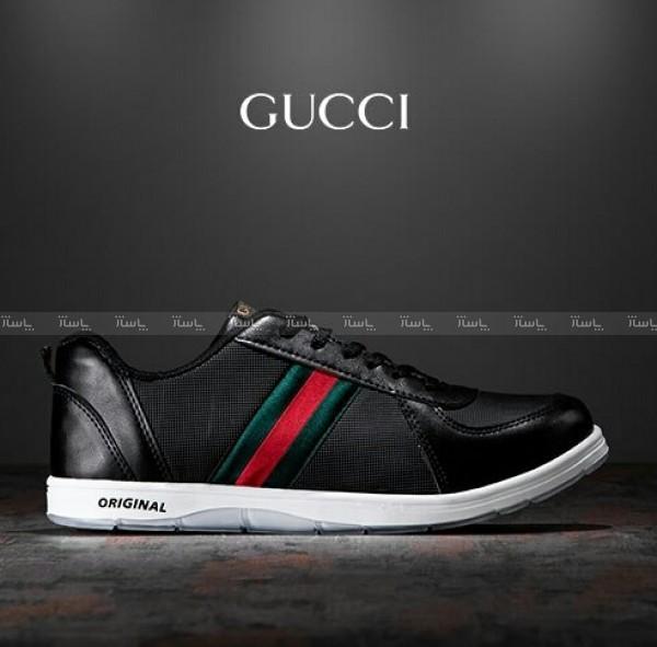 کفش مردانه Gucci مدل K1104 (مشکی)-تصویر اصلی