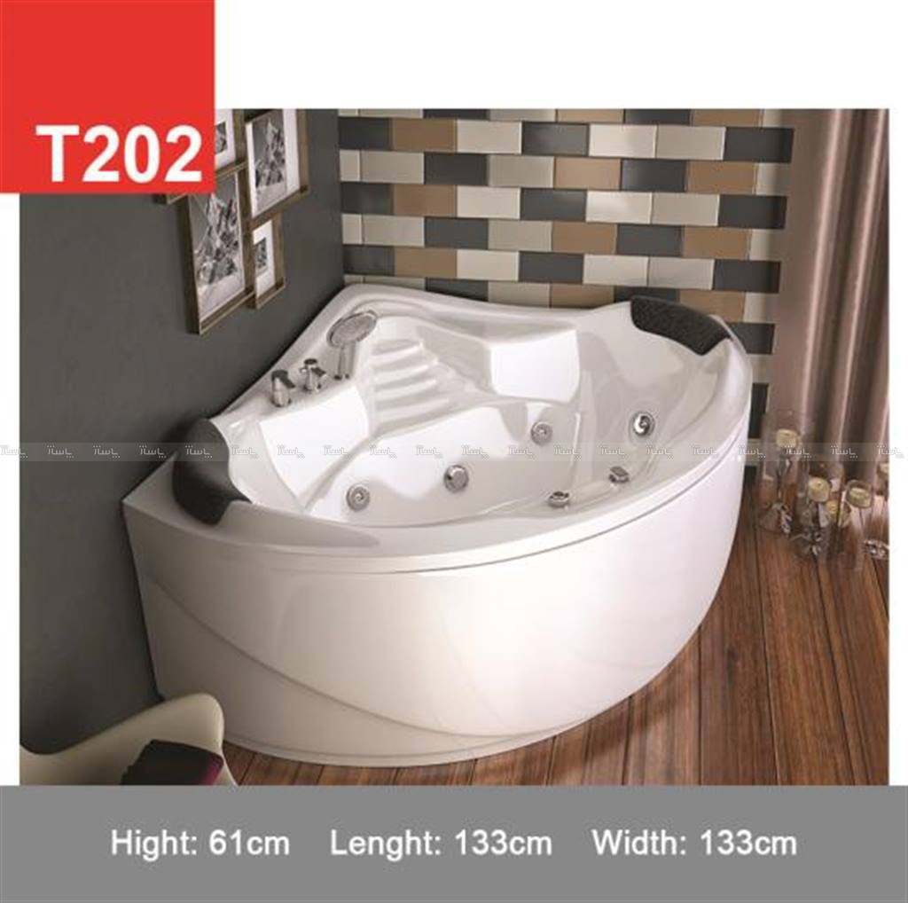 وان حمام Tenser مدل T202-تصویر اصلی