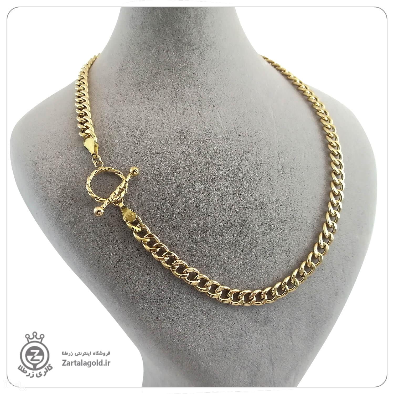 گردنبند کارتیه طلا +قفل تیفانی-تصویر اصلی