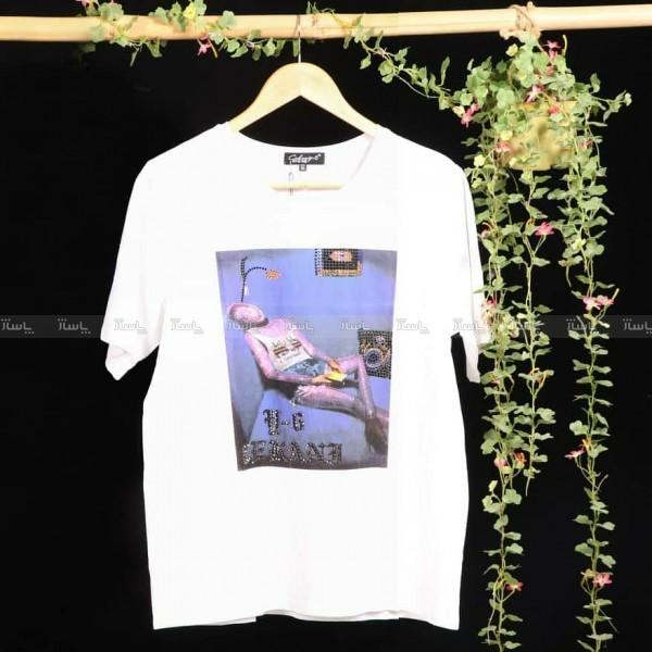 تی شرت طرح آدمک-تصویر اصلی