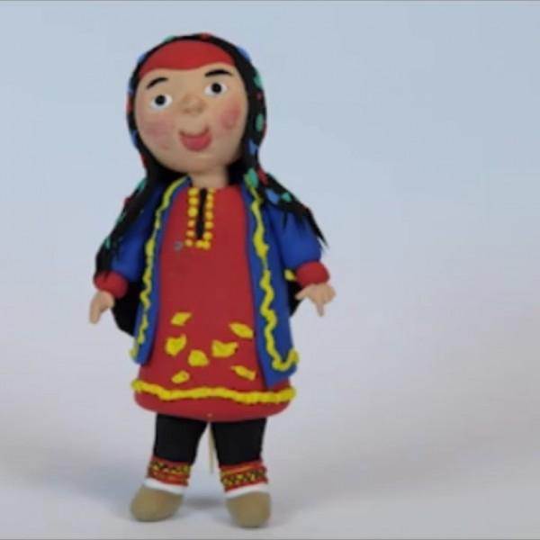 عروسک خمیری اقوام ایرانی-تصویر اصلی