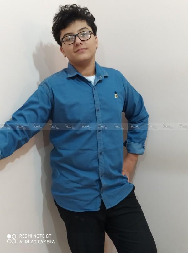 پیراهن جین مردانه-تصویر اصلی