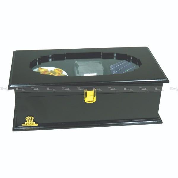 جعبه آجیل و خشکبار جعبه پذیرایی جعبه چوبی-تصویر اصلی