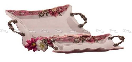 شیرینی خوری لبه گل دار رومنس-تصویر اصلی