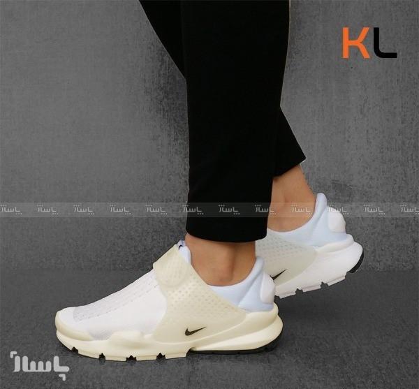 کفش کتانی نایک ساک دارت سفید-تصویر اصلی