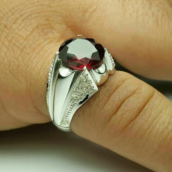 انگشتر فاخر نقره-تصویر اصلی