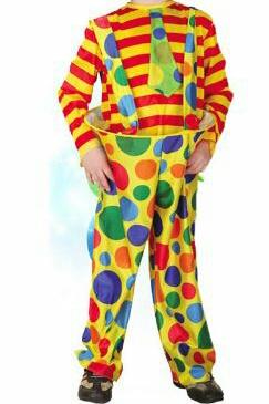 لباس دلقک بچه گانه-تصویر اصلی