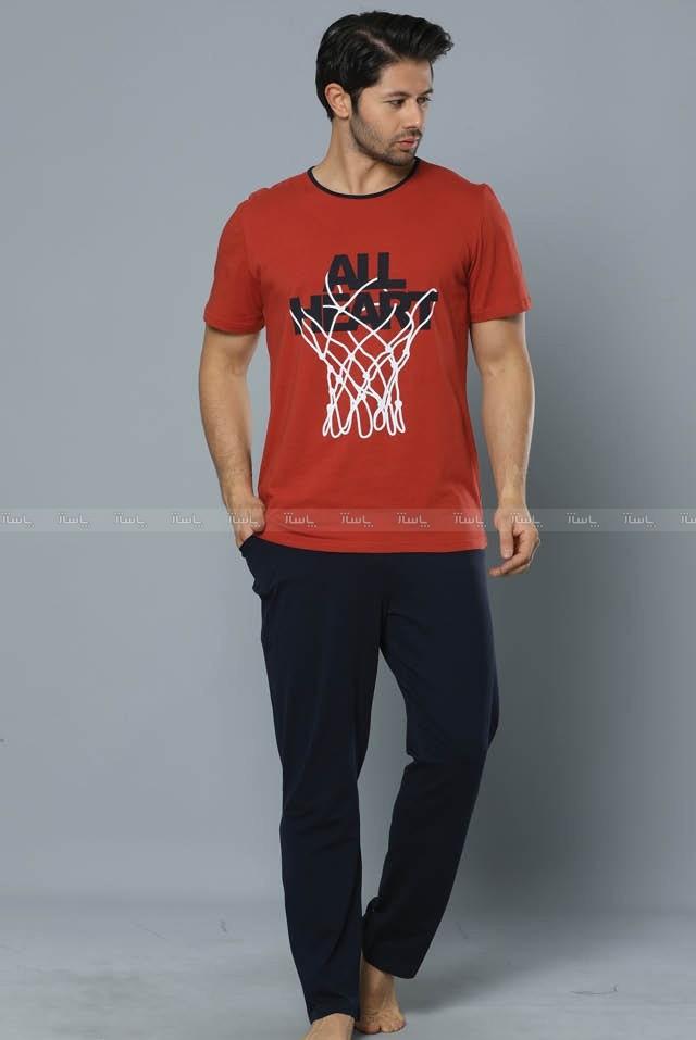 تیشرت شلوار مردانه سکسن طرح تور بسکتبال-تصویر اصلی