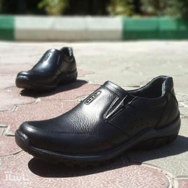 کفش چرم طبی فرزین مدل تورنتو-تصویر اصلی