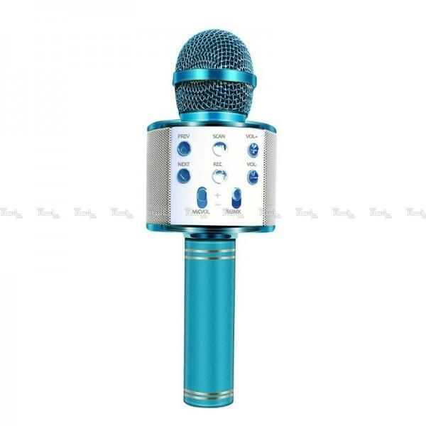 میکروفون اسپیکر دار صورتی و آبی-تصویر اصلی